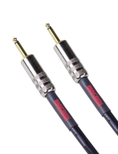 "Mogami OD SPK-03 Overdrive Speaker Cable, Gold 1/4"" TS Straight Plugs, 3 ft."